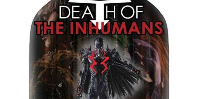 Who Dies in Death of the Inhumans - Cover