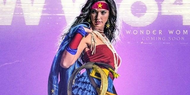 wonder woman 2 1984 fan poster bosslogic