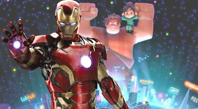 wreck it ralph 2 iron man