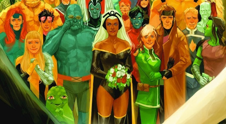 X-Men Gold Wedding