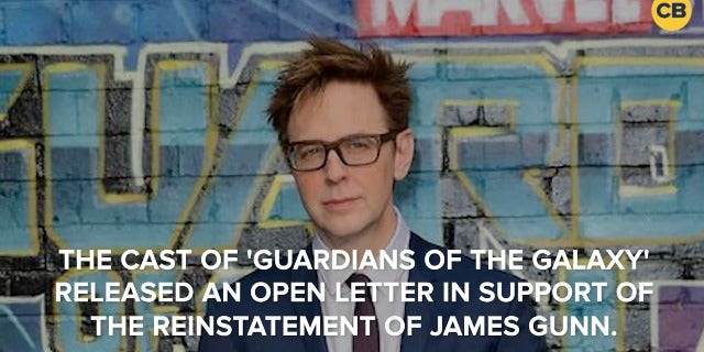 'Guardians of the Galaxy' Cast Release Statement to Reinstate James Gunn screen capture