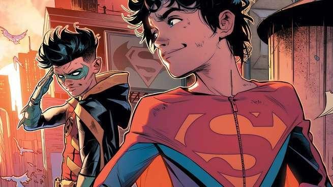 10 Villains for Super Sons - Cover