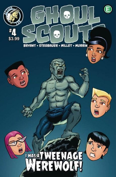 Ghoul Scouts: I Was A Tweenage Werewolf (2019) Issue 4
