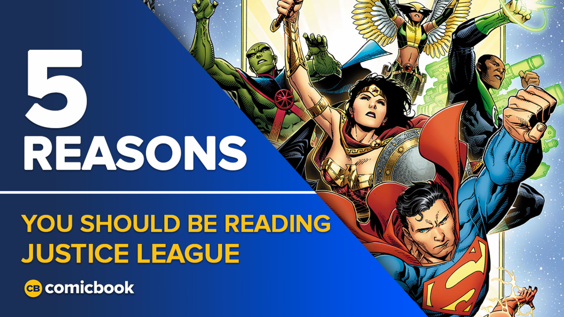 5 Reasons You Should Be Reading Justice League screen capture