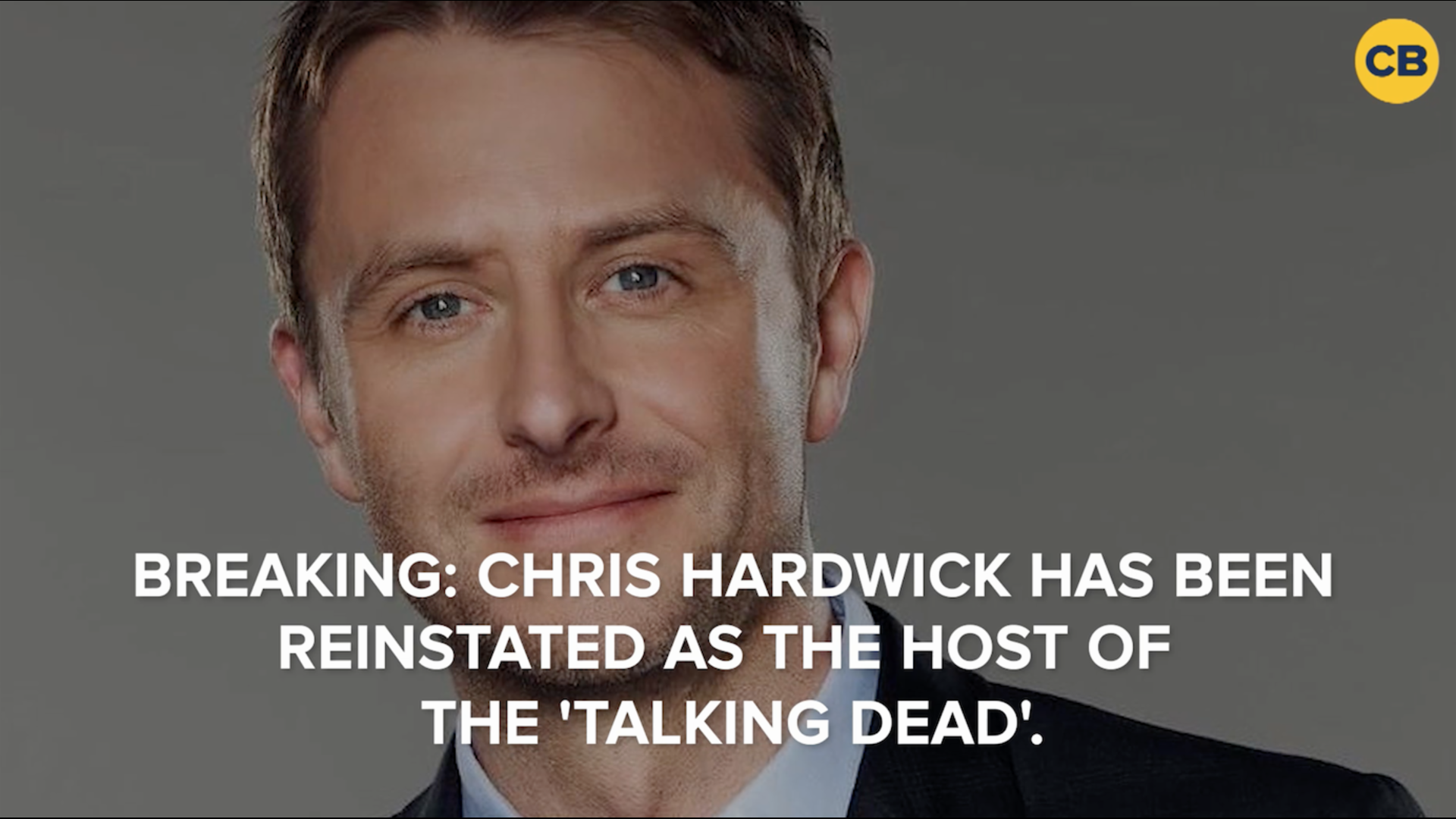 AMC Fully Reinstates Chris Hardwick as 'Talking Dead' Host screen capture