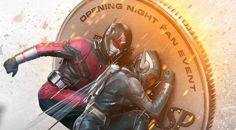 Ant-Man and the Wasp Double Feature Poster