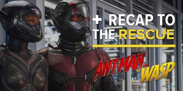 Ant-Man and the Wasp - Recap to the Rescue screen capture