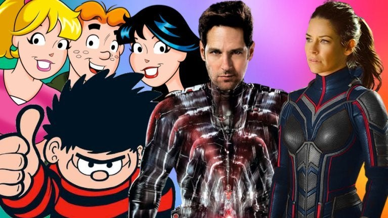 Ant-Man and the Wasp stars Archie Beano