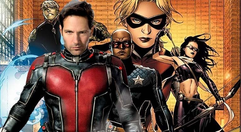 ant man and the wasp young avengers