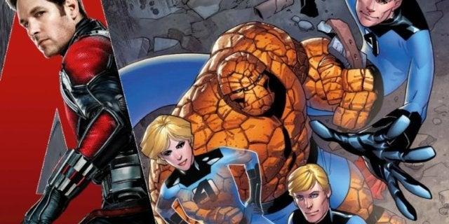Ant-Man Fantastic Four ComicBookcom