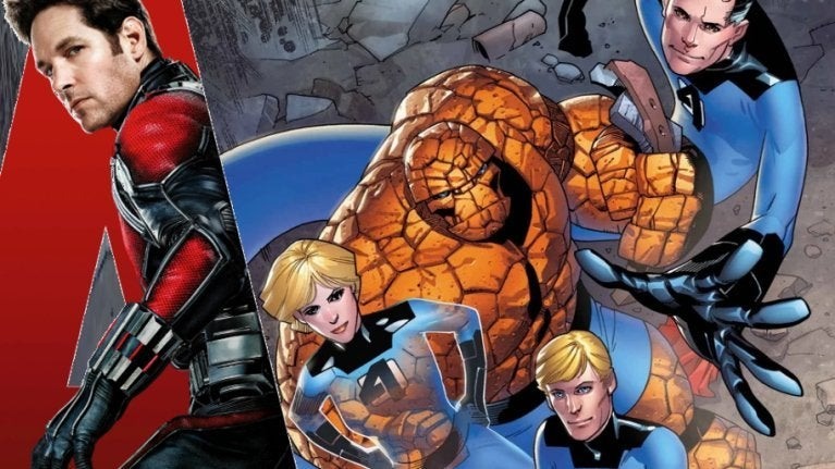 Ant-Man Fantastic Four ComicBookcom