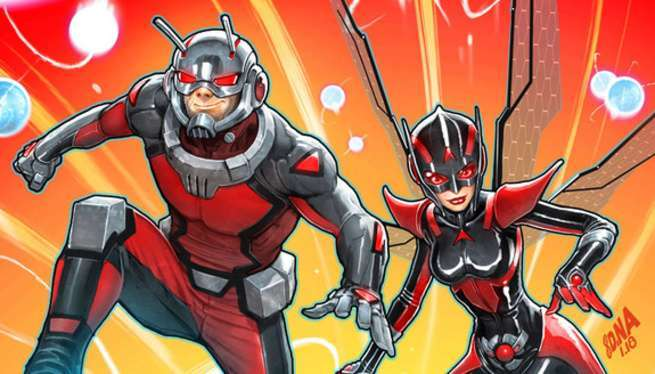 Ant-Man & The Wasp Comics - Cover
