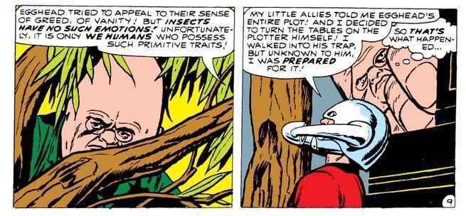 Ant-Man & The Wasp Comics - Egghead