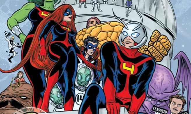 Ant-Man & The Wasp Comics - FF