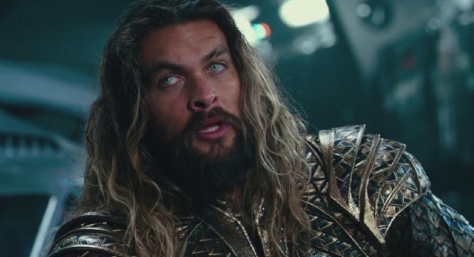 aquaman movie humor justice league
