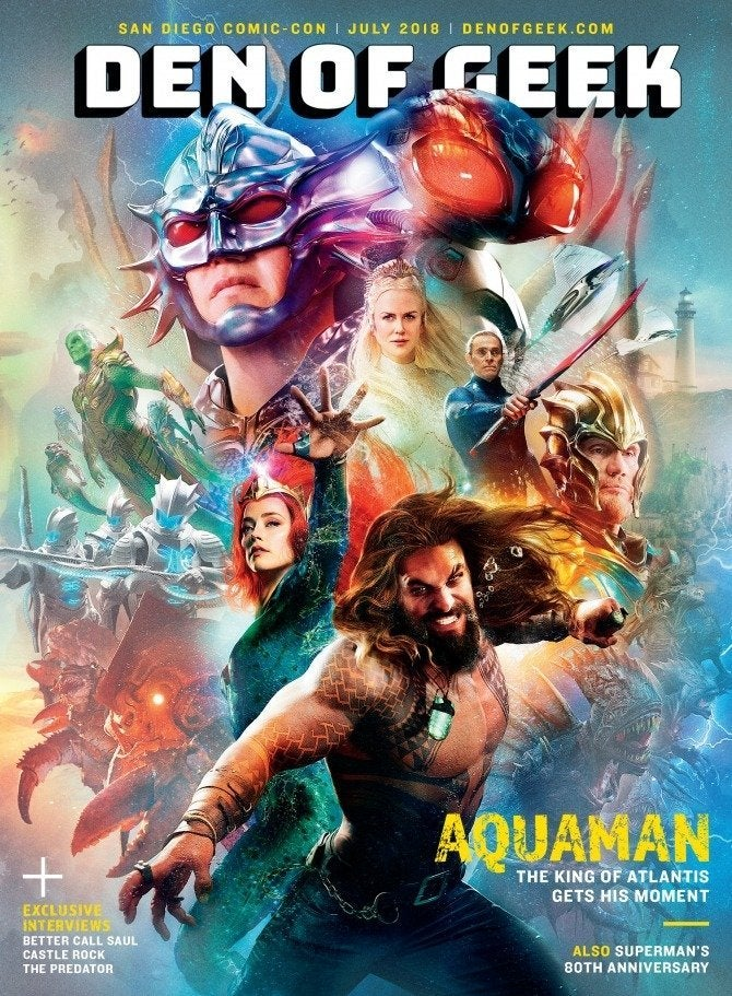 Aquaman Movie Magazine Cover - The Trench Monsters