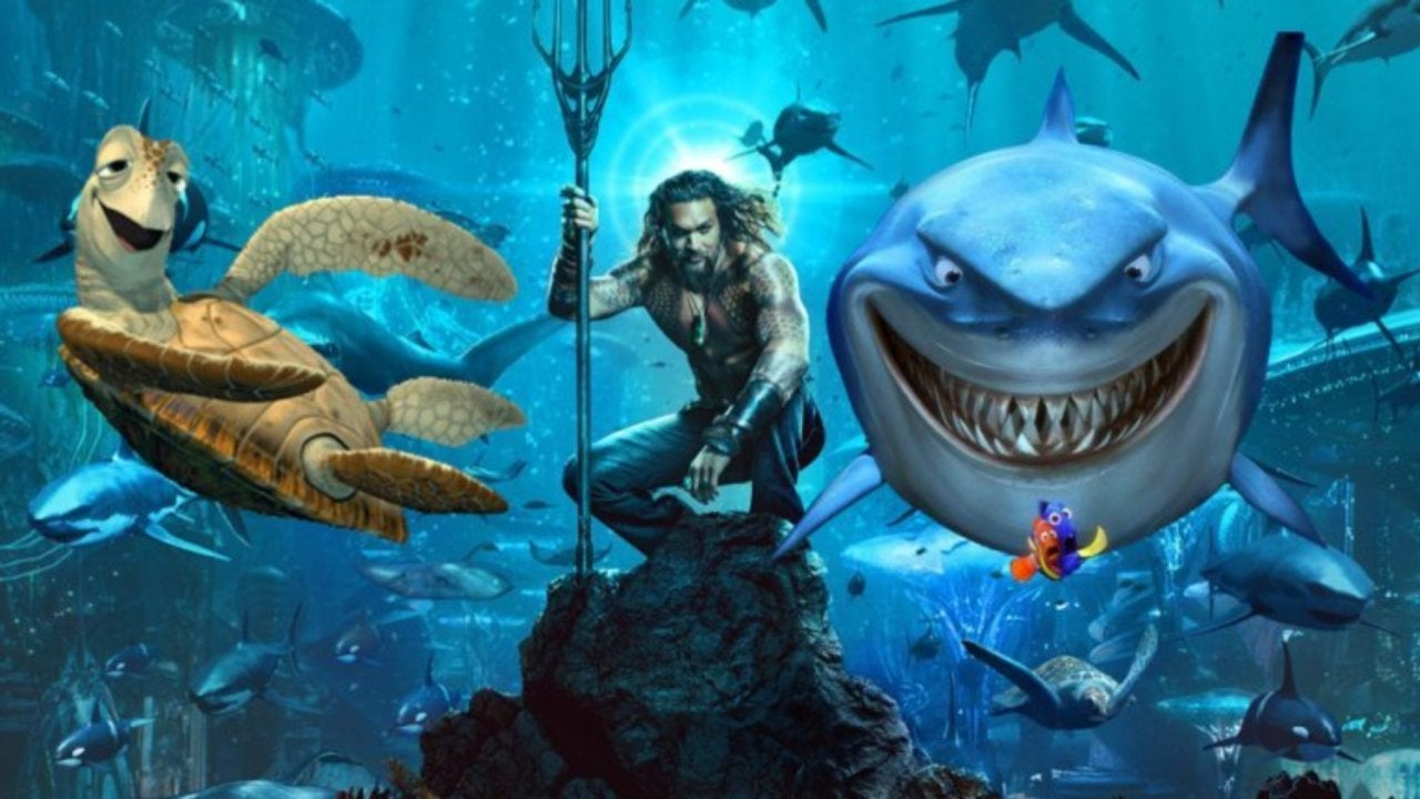 aquaman director loves the memes about the new poster