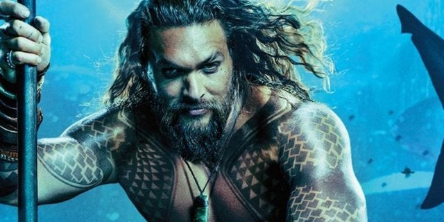 Aquaman Poster Not Wet