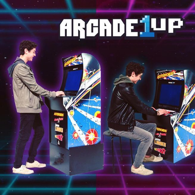 Arcade1Up Home Arcade Cabinets Are Back For $299 With Free Shipping