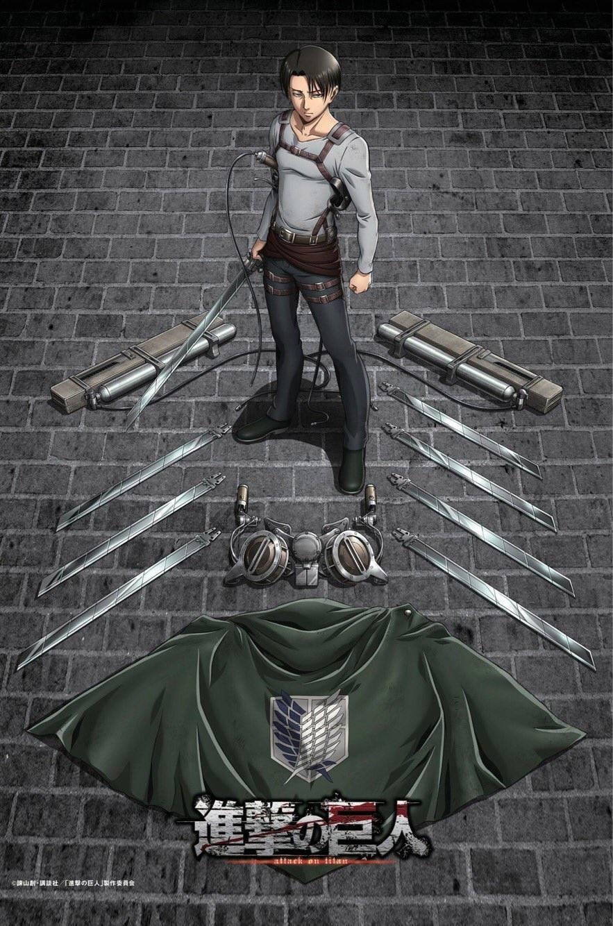 'Attack on Titan' Shares Season 3 Levi Poster