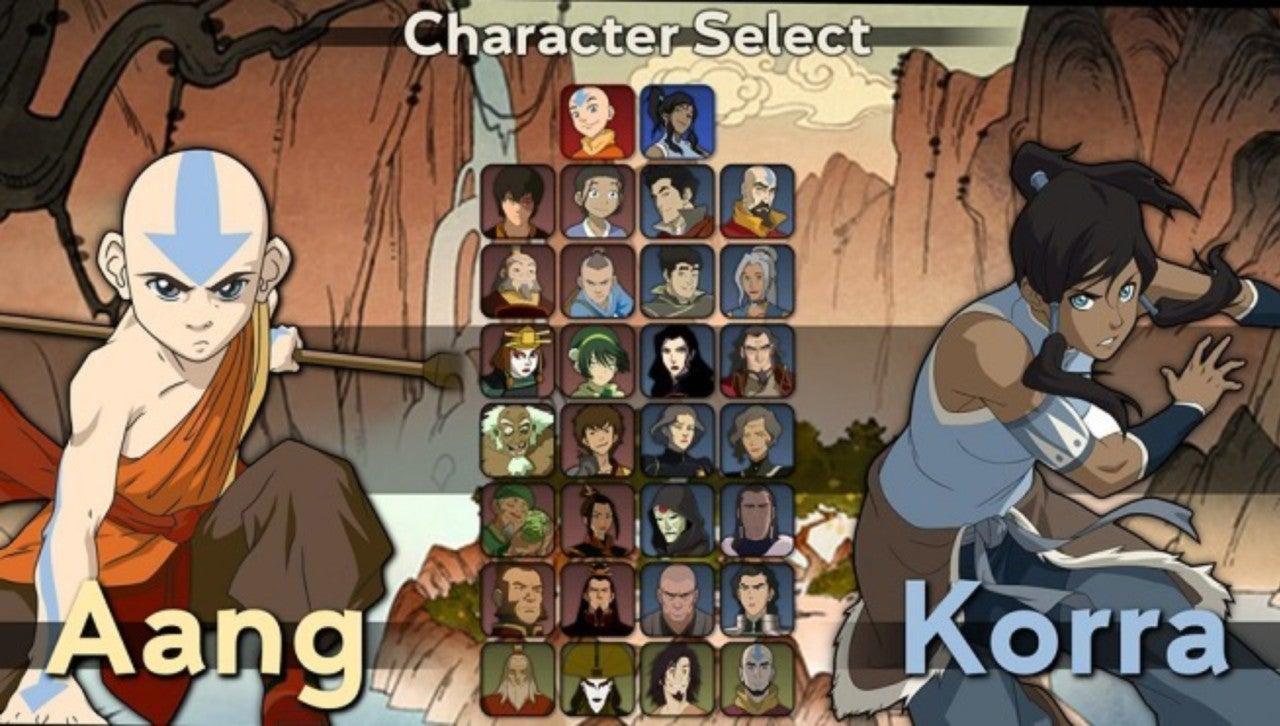 Aang Korra this 'avatar: the last airbender' fighting game needs to happen
