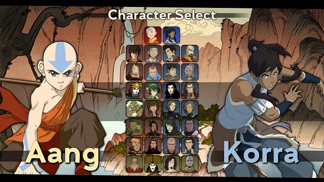 Avatar the Last Airbender Korra Fighting Game