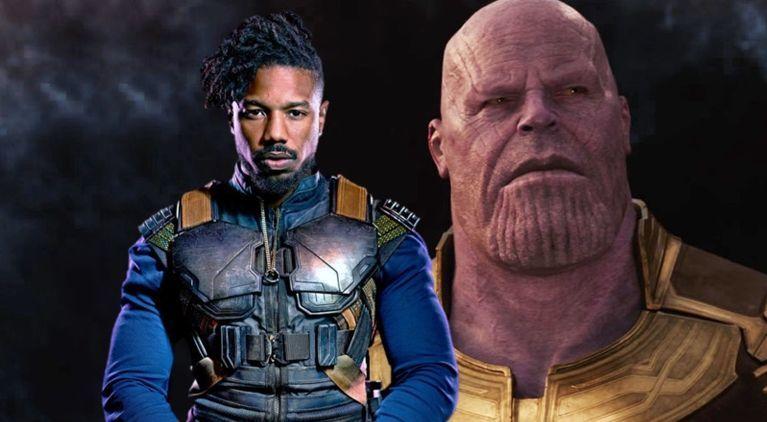 avengers-infinity-war-erik-killmonger-beats-thanos-michael-b-jordan
