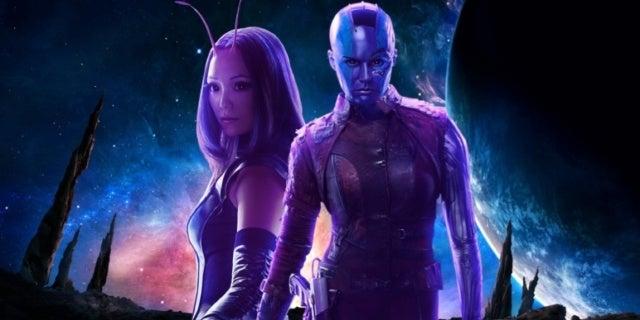 Avengers Infinity War Nebula Mantis COMICBOOKCOM