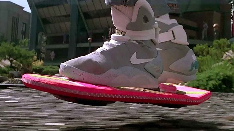 back to the future ii shoes nike mag