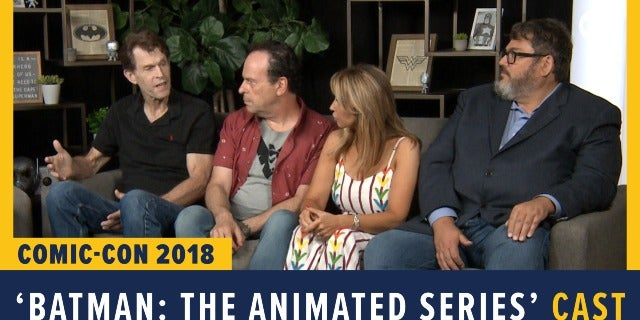 Batman: The Animated Series - SDCC 2018 Exclusive Interview screen capture