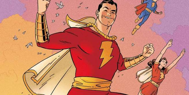 Best Shazam Comics - Cover