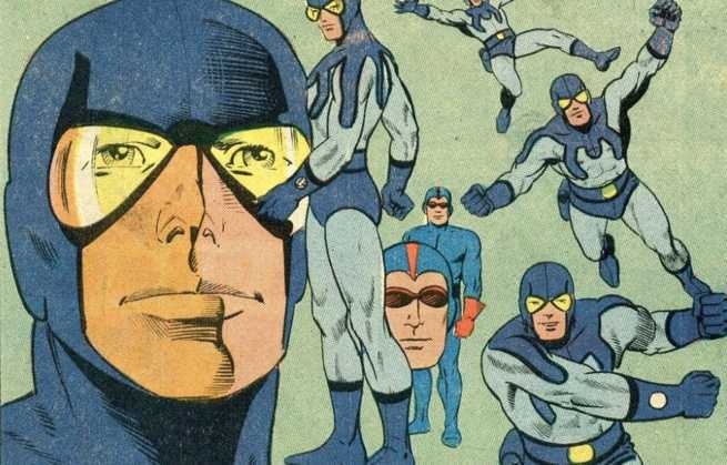 Best Steve Ditko Creations - Blue Beetle