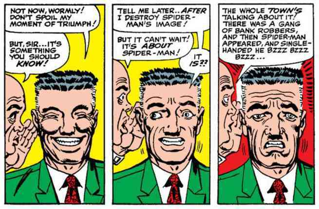 Best Steve Ditko Creations - J Jonah Jameson