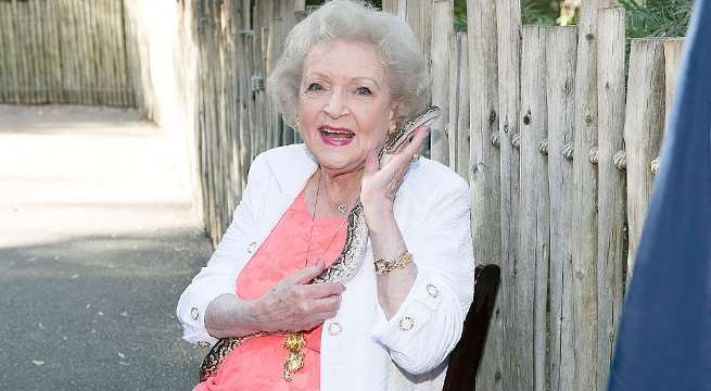 betty white getty
