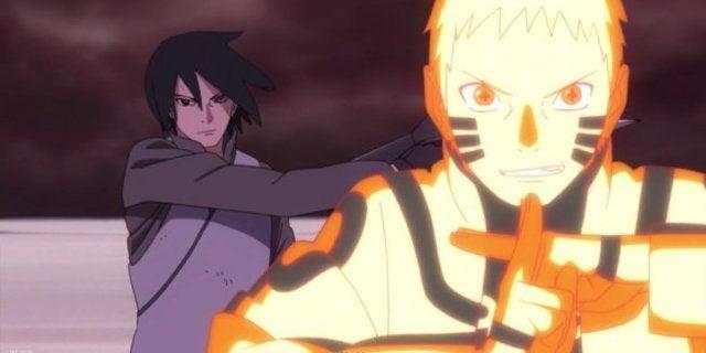 Boruto Episode 65 Naruto Rasenshuriken Sasuke Shadow Shuriken Attack