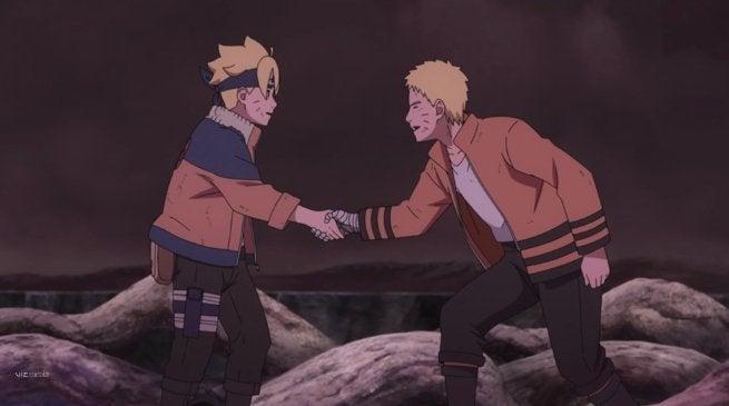 Boruto bromea sobre que la serie de Naruto es demasiado larga