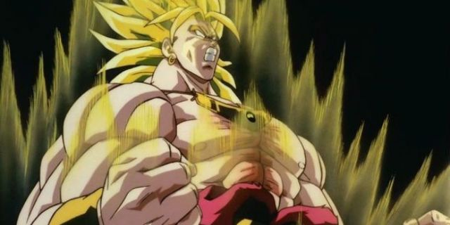 Dragon Ball Super Sketch Gives Broly's Original Design A Shintani Makeover