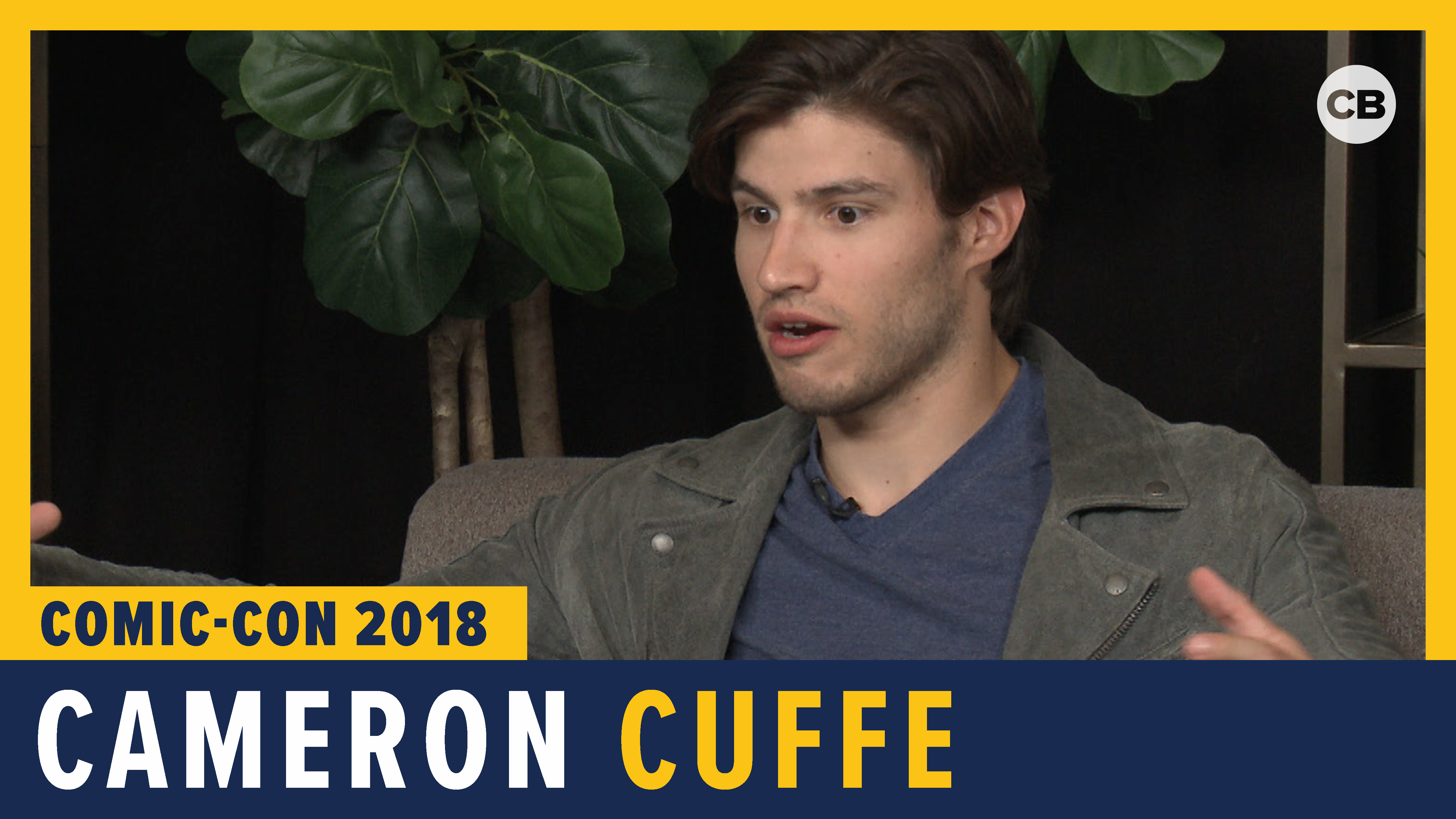 Cameron Cuffe (Krypton) - SDCC 2018 Exclusive Interview screen capture