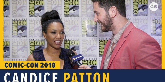 Candice Patton - SDCC 2018 Exclusive Interview screen capture