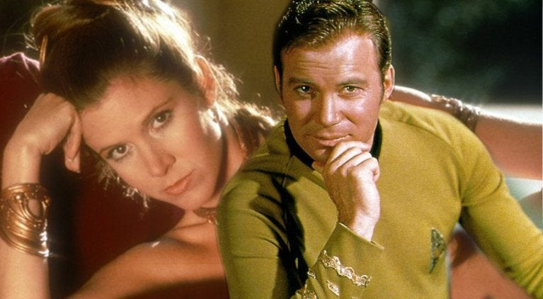 Carrie FIsher William Shatner