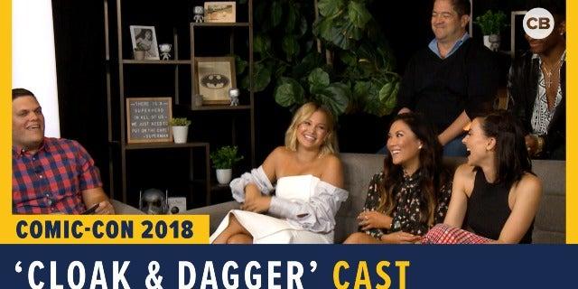 Cloak & Dagger - SDCC 2018 Exclusive Interview screen capture