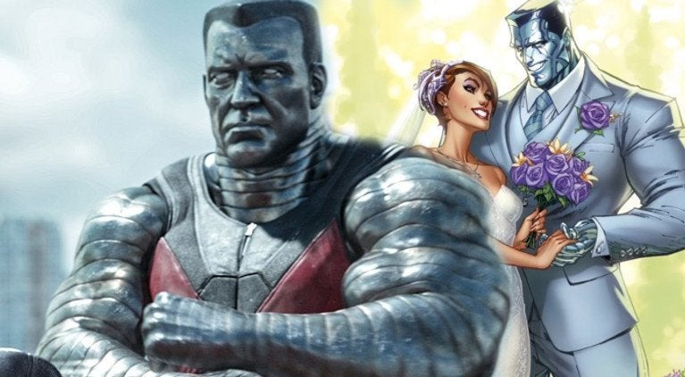 Colossus Actor Kitty Pryde Wedding