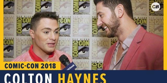 Colton Haynes - SDCC 2018 Exclusive Interview screen capture