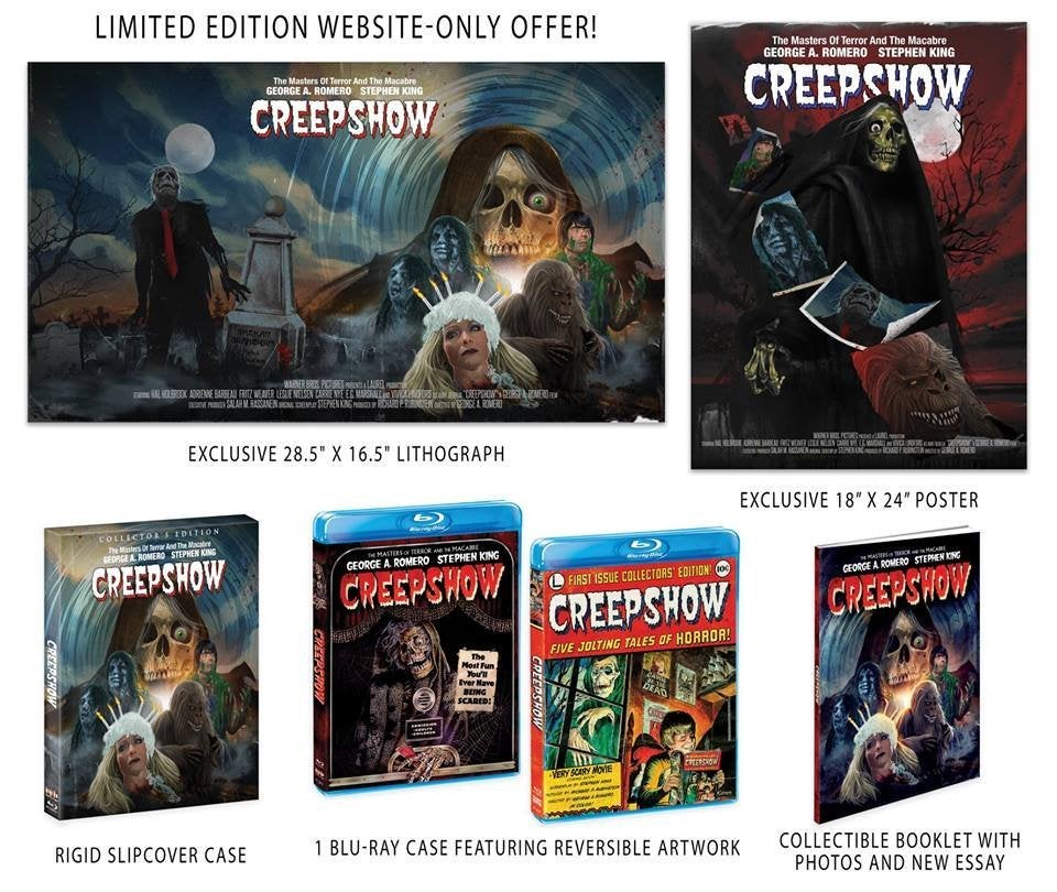 George Romero and Stephen King's 'Creepshow' Getting Collector's