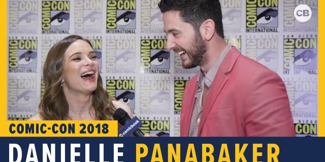 Danielle Panabaker - SDCC 2018 Exclusive Interview screen capture