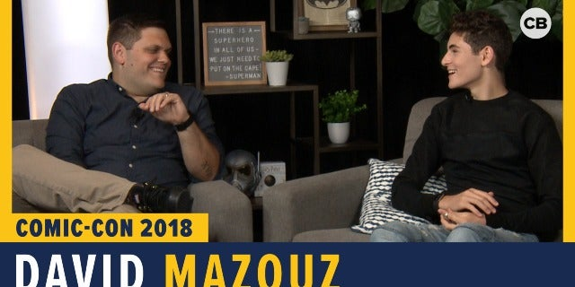 David Mazouz - SDCC 2018 Exclusive Interview screen capture