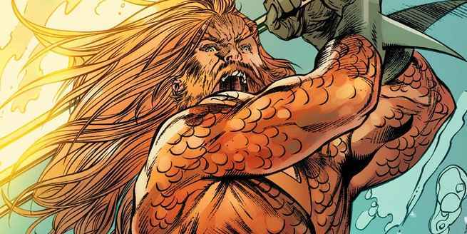 DC Comics Creative Lineup November - Aquaman