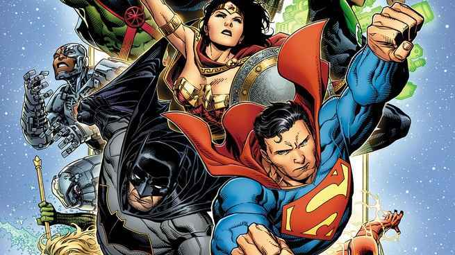 DC Comics Creative Lineup November - Justice League