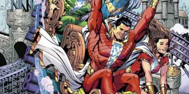 DC Comics Creative Lineup November - Shazam