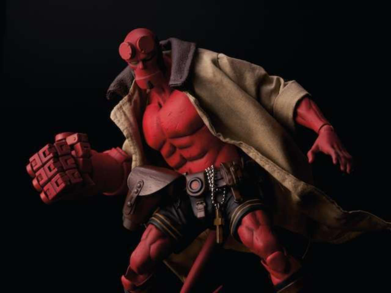 Get Your First Look At The Hellboy Action Figure Debuting At Sdcc